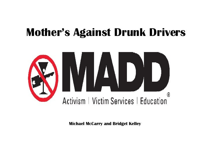 Mother's Against Drunk Drivers Michael McCarry and Bridget Kelley