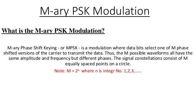 m ary psk modulation rh slideshare net  m ary psk transmitter & receiver block diagram