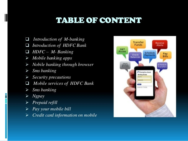 mobile banking application ppt