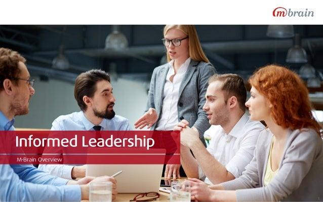 Informed Leadership M-Brain Overview 1