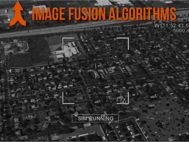 IMAGE FUSION ALGORITHMS