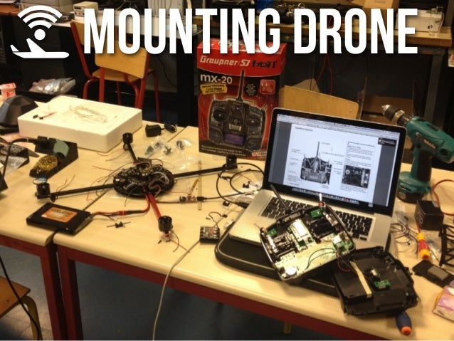 MOUNTING DRONE