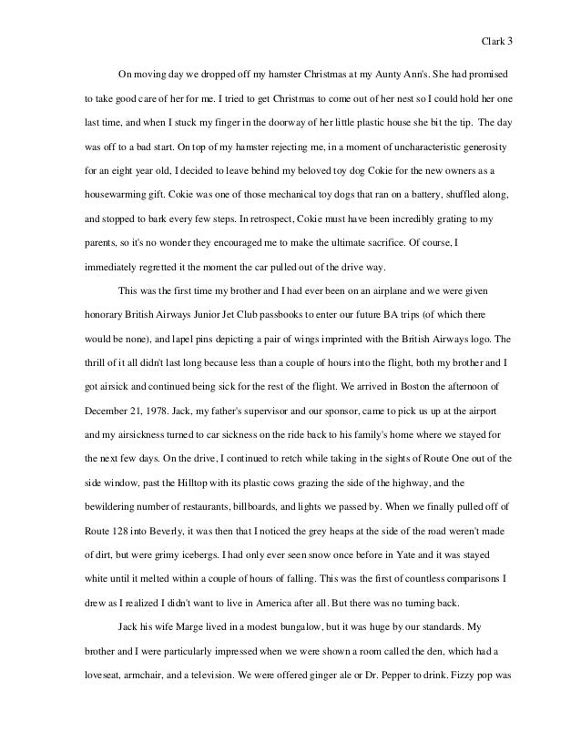 favorite restaurant essay