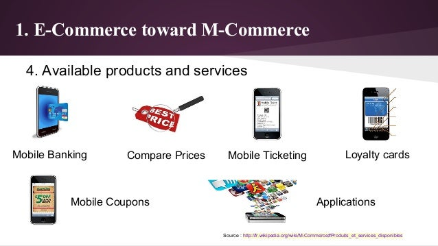 M commerce for E commerce mobili