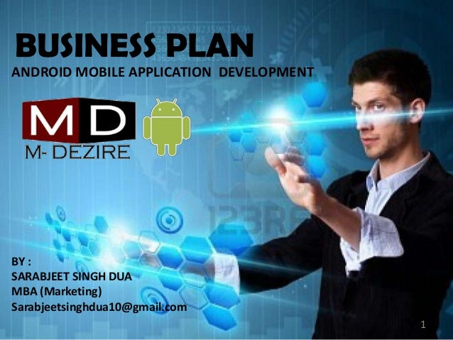 Computer/Software Application Business: Example Business Plan