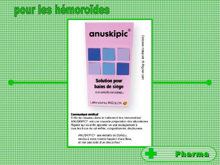 pour les hémoroïdes Pharma