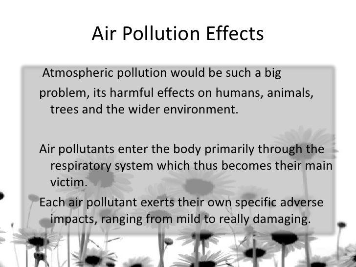 Short Essay on Environmental Pollution