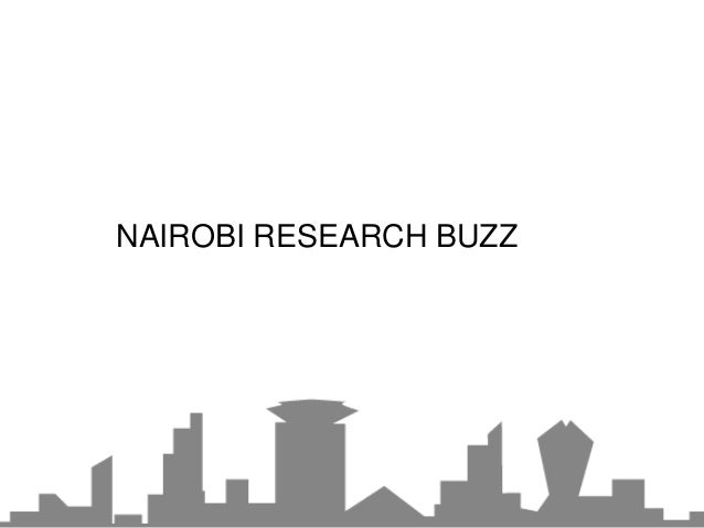 NAIROBI RESEARCH BUZZ