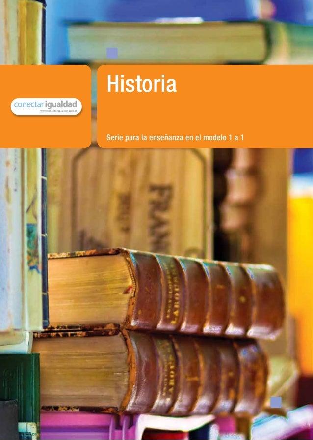 Serie para la enseñanza en el modelo 1 a 1Historiamaterial de distribución gratuita