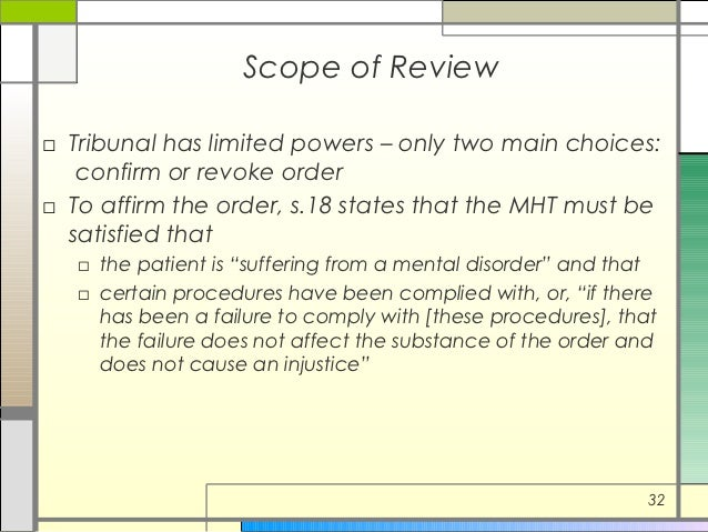 mental health act 2001 pdf