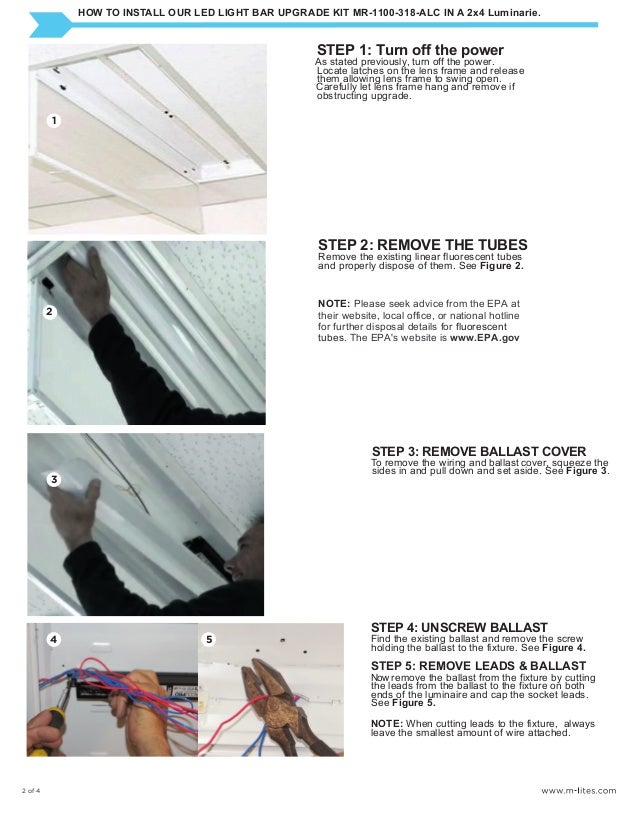 led strip light installation instructions