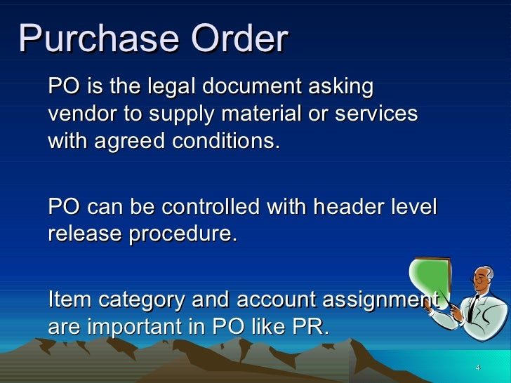 M M Purchasing – Is a Purchase Order a Legal Document