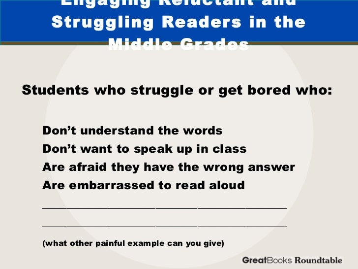 Hooking Struggling Readers Using Books They Can and Want