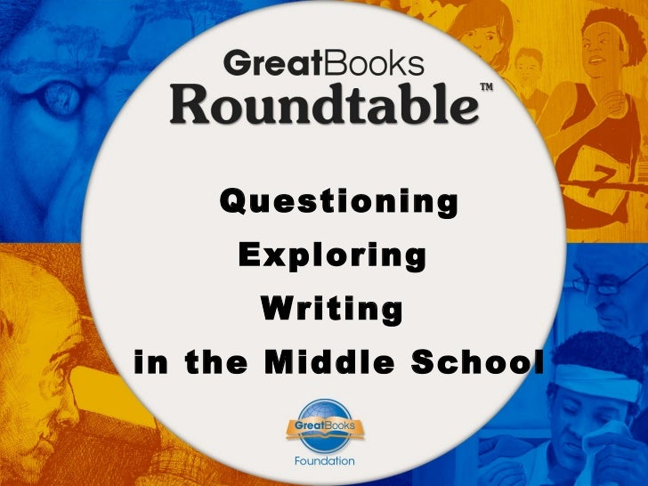 Questioning Exploring  Writing  in the Middle School