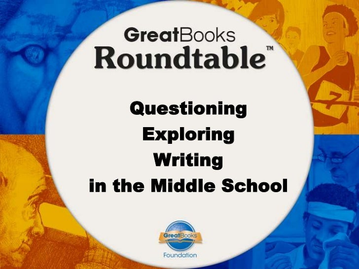 Questioning      Exploring       Writingin the Middle School