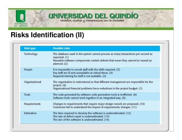 Risks Identification (II)