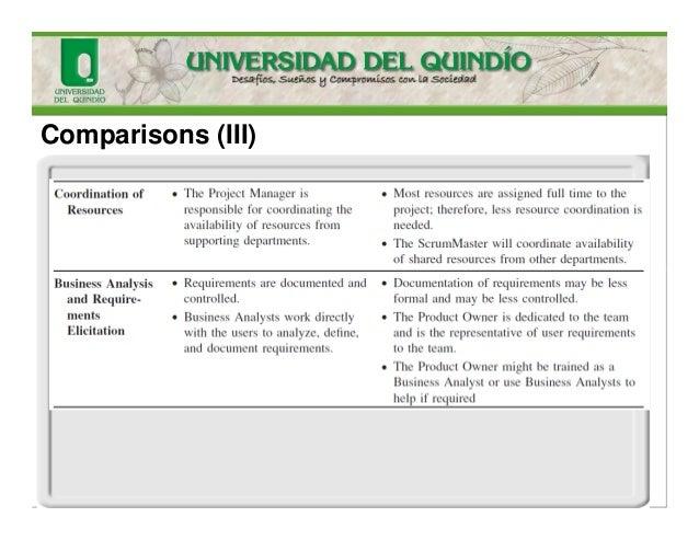 Comparisons (III)