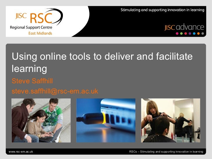Go to View > Header & Footer to edit July 4, 2011      slide  RSCs – Stimulating and supporting innovation in learning Usi...