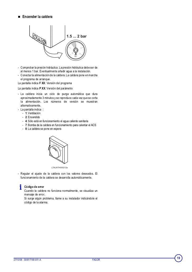 Caldera se enciende sola elegant caldera roca rs with - Como encender la calefaccion ...