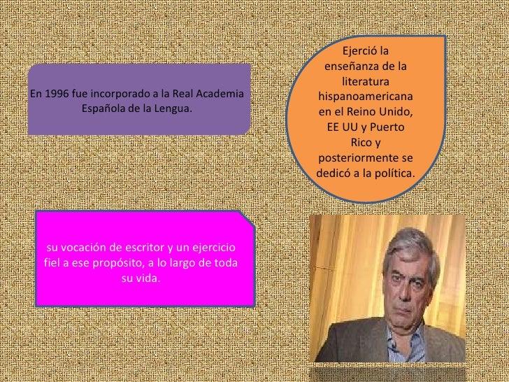 Ejerció la enseñanza de la literatura hispanoamericana en el Reino Unido,<br />EE UU y Puerto Rico y posteriormente se ded...