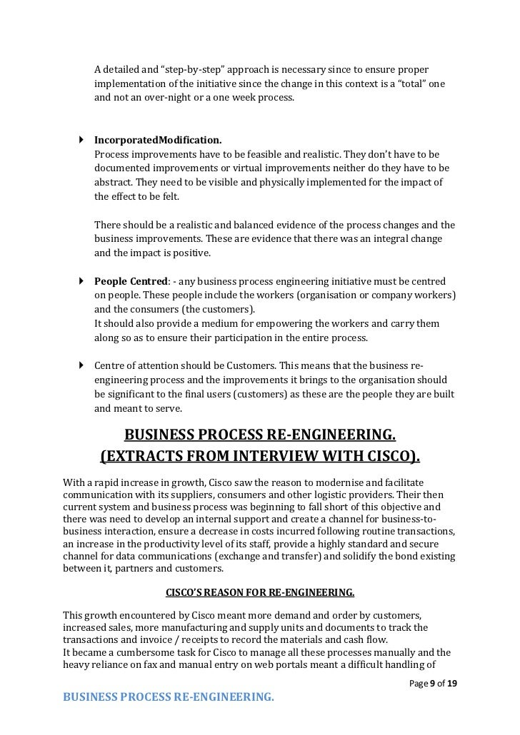 reengineering essay 1 introduction this study focuses on the instance surveies of the levi jeans workers and the california auto club reengineering client service we will write a.