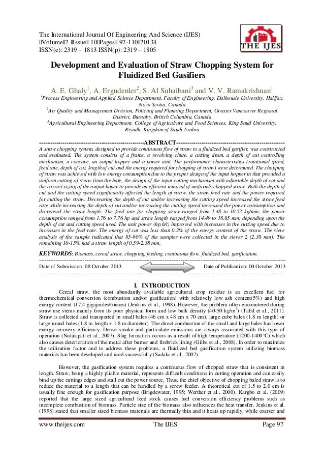 The International Journal Of Engineering And Science (IJES) ||Volume||2 ||Issue|| 10||Pages|| 97-110||2013|| ISSN(e): 2319...
