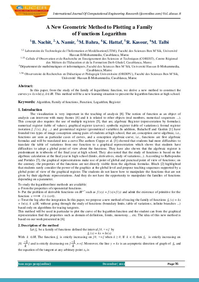 I nternational Journal Of Computational Engineering Research (ijceronline.com) Vol. 2Issue. 8                      A New G...