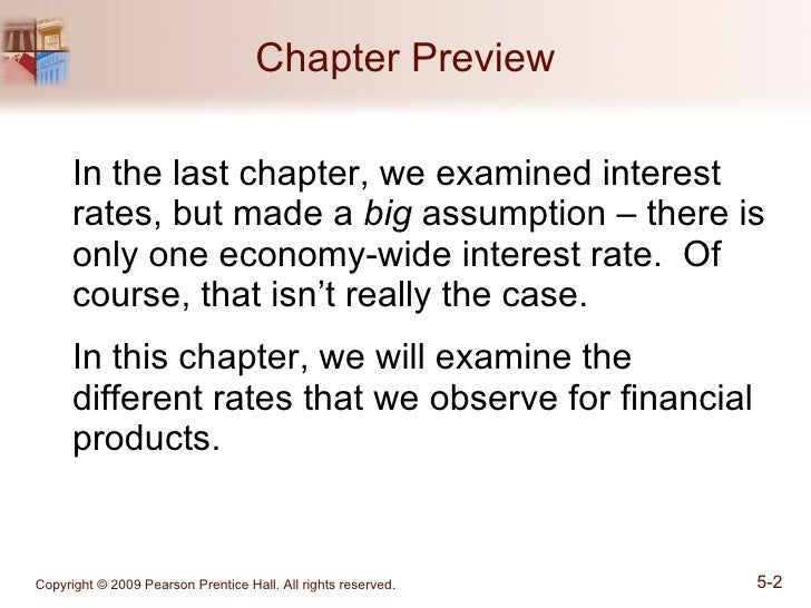 Chapter 05_How Do Risk and Term Structure Affect Interest Rate? Slide 2