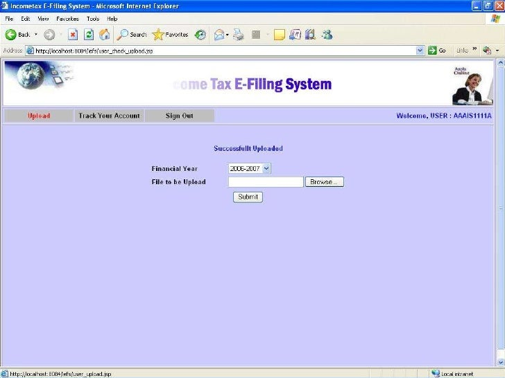 how to check my income tax return status online