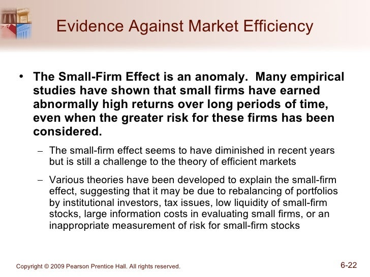 is the small firm january effect an anomaly However, tax-loss selling cannot explain the entire january seasonal effect the  small firms least likely to be sold for tax reasons (prior year 'winners') also.