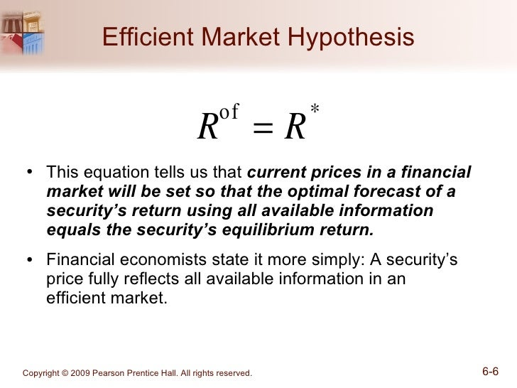 from efficient markets theory to behavioral finance Here we'll take a look at where the efficient market theory has fallen short in terms of explaining the stock market's behavior see also: 5 new rules for safe investing emh tenets and problems.