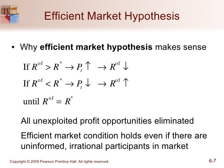 from efficient markets theory to behavioral finance On this video, i attempt to discuss the different between efficient market hypothesis and behavioral finance i then proceed to give short explanation on the categories of market efficiency as.
