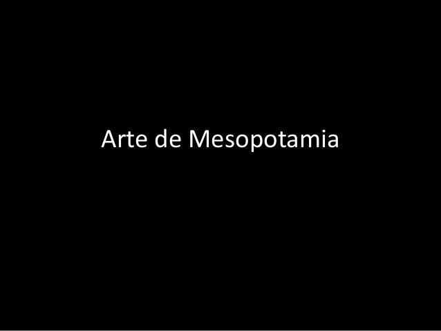 Arte de Mesopotamia