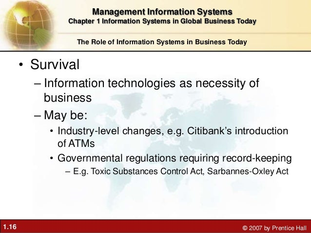 global information systems 1 information systems in business today chapter 1 chapter 1: information systems in global business today video cases case 1: ups global operations with the diad iv.