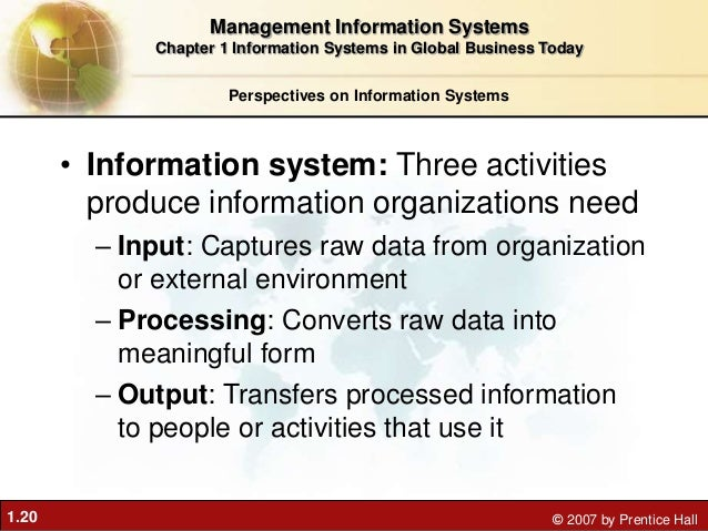information system in global business today Global e-business and collaboration  and human resources into a single software system  information systems in global business today about me.