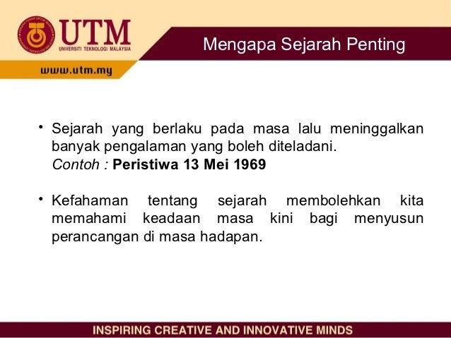 Dinamika Malaysia - Konsep sejarah [hamidahk 2011