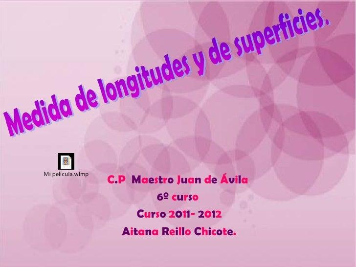 Mi película.wlmp                   C.P Maestro Juan de Ávila                            6º curso                         C...