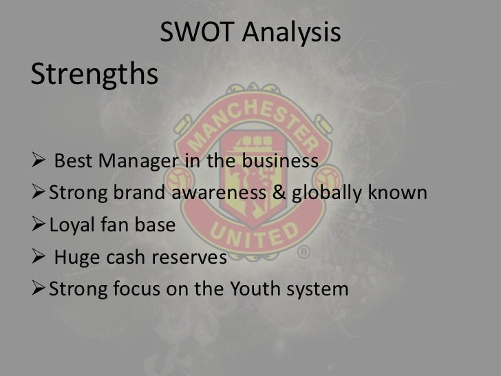 manchester united swot analysis
