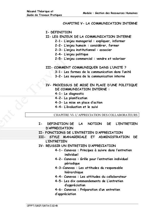 m11 gestion des ressources humaines ht
