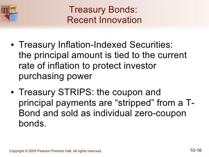Strip coupon bonds