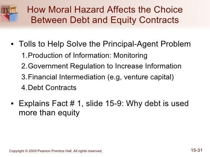 principle agent moral hazard Structural estimation of a principal-agent model: moral hazard in medical insurance marcos vera-hernández the rand journal of economics, vol 34, no 4.
