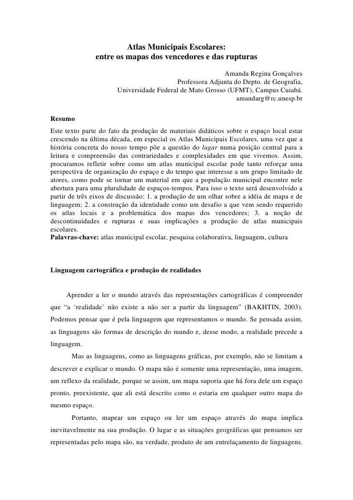 Atlas Municipais Escolares:                 entre os mapas dos vencedores e das rupturas                                  ...
