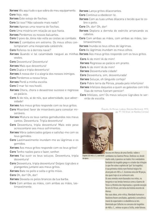 Os Persas de Ésquilo A origem do teatro e da tragédia Cap. 1 Cap. 2 Cap. 3 Origem do teatro grego Teatro de Dioniso https:...