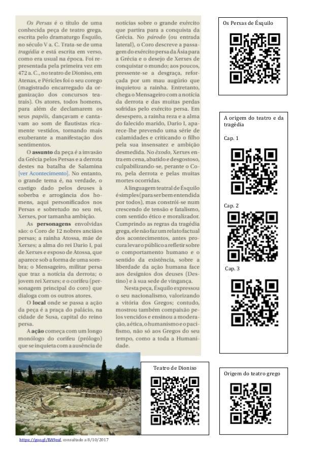 Bibliografia: NUNES, Paulo Simões – História da Cultura e das Artes 10. Lisboa, Raiz Editora, s/d. PINTO, Ana Lídia e outr...
