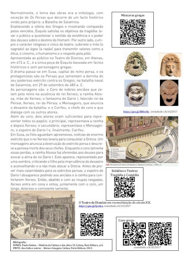 GUIÃO DE ATIVIDADES Responder no caderno diário. 1. Identifica os géneros teatrais. 2. Arquitetonicamente, como se definem...