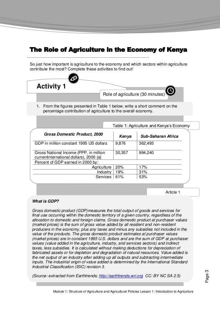 an introduction to the analysis of agriculture Dd-bx-1017) to evaluate the agricultural crime, technology, information, and   this policy brief provides an introduction to cost-benefit analysis (cba) as a.