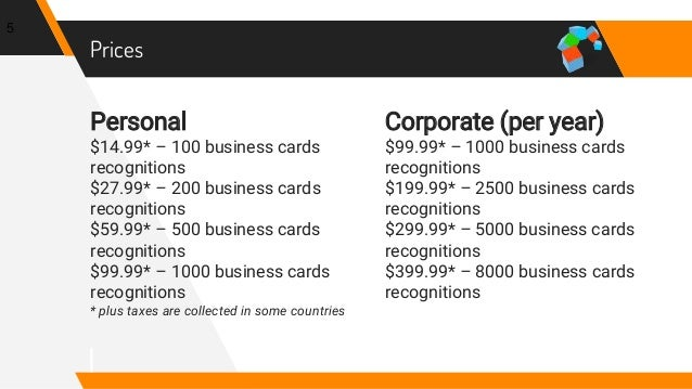 The best way to store business card data into infusionsoft crm works best for the usa canada and europe 4 5 personal 1499 100 business cards colourmoves