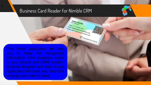 How to save business cards data to nimble crm business colourmoves