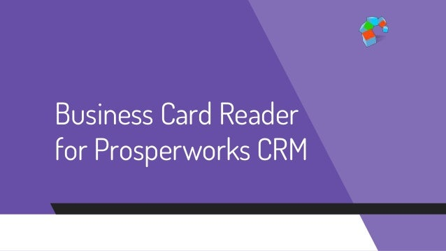 How to scan business card data and store it perfectly in your prosper reheart Images