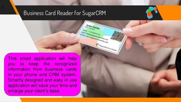 How to scan business cards into sugarcrm business colourmoves Choice Image